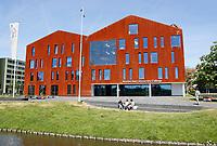 Nederland  Amsterdam  2017.  Science Park van de Universiteit van Amsterdam. Amsterdam University College.  Foto Berlinda van Dam / Hollandse Hoogte