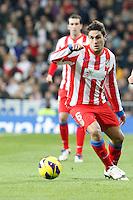 Koke during La Liga Match. December 01, 2012. (ALTERPHOTOS/Caro Marin)