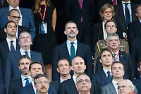 King Felipe VI of Spain during Copa del Rey (King's Cup) Final between Deportivo Alaves and FC Barcelona at Vicente Calderon Stadium in Madrid, May 27, 2017. Spain.<br /> (ALTERPHOTOS/BorjaB.Hojas) /NortePhoto.com