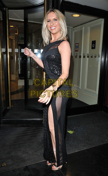 Brooke Kinsella attends the Children With Cancer Ball 2015, Grosvenor House Hotel, Park Lane, London, England, UK, on Saturday 14 November 2015. <br /> CAP/CAN<br /> &copy;Can Nguyen/Capital Pictures
