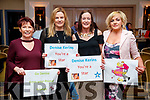 Mags Moriarty (Farranfore), Aileen O'Leary (Farranfore), Olivia O'Sullivan and Helena O'Sullivan (Firies), pictured at Ballymac Strictly Come Dancing, at Ballygarry House Hotel & Spa, Tralee, on Saturday night last.