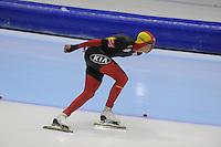 SCHAATSEN: HEERENVEEN: IJsstadion Thialf, 16-11-2012, Essent ISU World Cup, Season 2012-2013, Men 5000 meter Division A, Bart Swings (BEL), ©foto Martin de Jong