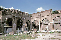 Basilica Julia, Roman Forum, Rome, Italy