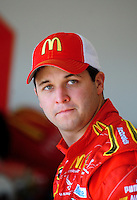 Feb 07, 2009; Daytona Beach, FL, USA; NASCAR Sprint Cup Series driver Reed Sorenson during practice for the Daytona 500 at Daytona International Speedway. Mandatory Credit: Mark J. Rebilas-
