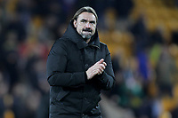 Norwich City Manager Daniel Farke during the Premier League match between Norwich City and Manchester United at Carrow Road on October 27th 2019 in Norwich, England. (Photo by Matt Bradshaw/phcimages.com)<br /> Foto PHC/Insidefoto <br /> ITALY ONLY