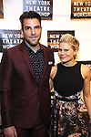 Zachary Quinto and Celia Keenan-Bolger attends the 2018 New York Theatre Workshop Gala at the The Altman Building on April 16, 2018 in New York City