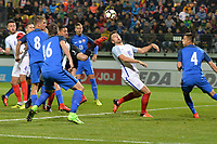 Joshua Rees Of England C during Slovakia Under-21 vs England C, International Challenge Trophy Football at Mestsky Stadion on 8th November 2017