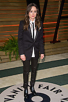 Ellen Page arriving for the 2014 Vanity Fair Oscars Party, Los Angeles. 02/03/2014 Picture by: James McCauley/Featureflash
