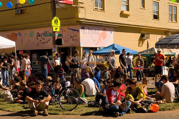 Belmont Street Fair, Portland, Oregon