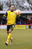 Ricky Holmes of Northampton Town during the Sky Bet League 2 match between Stevenage and Northampton Town at the Lamex Stadium, Stevenage, England on 19 March 2016. Photo by David Horn / PRiME Media Images.