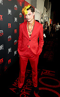 """LOS ANGELES - OCTOBER 26: Zach Villa attends the red carpet event to celebrate 100 episodes of FX's """"American Horror Story"""" at Hollywood Forever Cemetery on October 26, 2019 in Los Angeles, California. (Photo by John Salangsang/FX/PictureGroup)"""