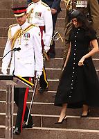 Duke & Duchess of Sussex Open ANZAC Memorial