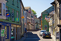 High Street, Fishguard, Pembrokeshire, Wales, UK