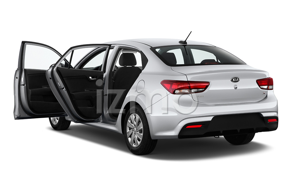 Car images close up view of a 2019 KIA Rio S 4 Door Sedan doors