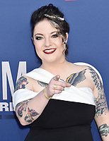 LAS VEGAS, CA - APRIL 07: Ashley McBryde attends the 54th Academy Of Country Music Awards at MGM Grand Hotel &amp; Casino on April 07, 2019 in Las Vegas, Nevada.<br /> CAP/ROT/TM<br /> &copy;TM/ROT/Capital Pictures