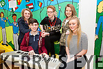 'And then there were five' are Erin O Shea, Daragh O Donoghue, Denis Ormond, Alanna O Sullivan and Alanah O Shea from Waterville youth group. at the KDYS  Annual Youth Factor in CBS Primary School  on Saturday