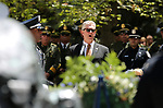 Shawn Mahan sings &ldquo;Going Home&rdquo; at the 20th annual Nevada Law Enforcement Memorial ceremony at the Capitol in Carson City, Nev., on Thursday, May 4, 2017.<br />