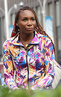 NEW YORK, NY-August 25:  Venus Williams at Fox & Friends  to talk about US Open and her line of sport gear in New York. August 25, 2016. Credit:RW/MediaPunch