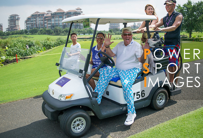 John Daly during the World Celebrity Pro-Am 2016 Mission Hills China Golf Tournament on 23 October 2016, in Haikou, Hainan province, China. Photo by Marcio Machado / Power Sport Images