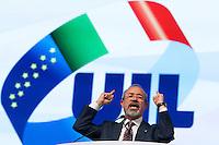 Carmelo Barbagallo nuovo Segretario della UIL<br /> Roma 21-11-2014 Palazzo dei Congressi. XVI Congresso della UIL.<br /> Photo Samantha Zucchi Insidefoto