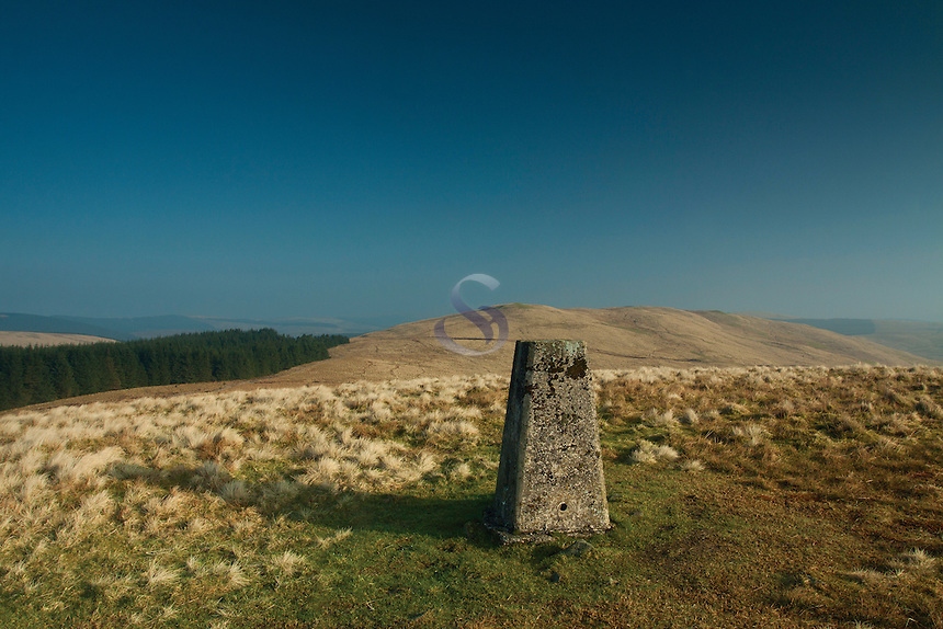 Annanhead Hill on the Annandale Way, Galloway