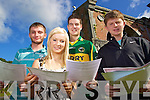 Jack Sweeny, Listoel, Irene Wrenn, Listry, David McMahon, Tralee and Paddy Walsh, Tralee Students from Brookfield college Tralee after receiving their Leaving Certificate results on Wednesday.