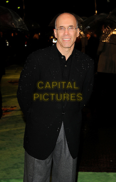 "JEFFREY KATZENBERG.The ""Madagascar Escape 2 Africa"" - UK Premiere - Outside Arrivals at Empire Leicester Square, London, England. November 23rd 2008.half length glasses black jacket .CAP/CAN.©Can Nguyen/Capital Pictures."