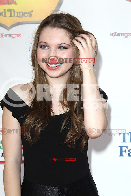 UNIVERSAL CITY, CA - OCTOBER 21:  Sammi Hanratty at the Camp Ronald McDonald for Good Times 20th Annual Halloween Carnival at the Universal Studios Backlot on October 21, 2012 in Universal City, California. ©mpi28/MediaPunch Inc. /NortePhoto