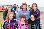 El Nino rowers from Waterville/Castlecove at the Cromane Regatta on Sunday l-r: Lea Turner, Caoimhe Curran, Casey O'Connell, Poppy Hillis, Tara Riordan and Aoibhin Fenton