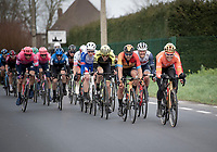 smiling faces at the front...<br /> <br /> 72nd Kuurne-Brussel-Kuurne 2020 (1.Pro)<br /> Kuurne to Kuurne (BEL): 201km<br /> <br /> ©kramon