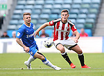 Sheffield United's Jack O'Connell in action during the League One match at the Priestfield Stadium, Gillingham. Picture date: September 4th, 2016. Pic David Klein/Sportimage