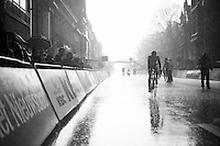 minutes after Sagan won the race on a dry course, rain just pours down in buckets as the last riders comes in<br /> <br /> 78th Gent - Wevelgem in Flanders Fields (1.UWT)