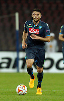 David Lopez  during Europa League Semi Final first    leg soccer match, between SSC Napoli and  Dinipro   at  the San Paolo   stadium in Naples  Italy , May 07, 2015