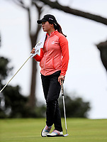 Rose Zheng during the Charles Tour Augusta Funds Management Ngamotu Classic, Ngamotu Golf Course, New Plymouth, New Zealand, Friday 13  October 2017.  Photo: Simon Watts/www.bwmedia.co.nz