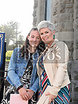Ceola O'Neill who was confirmed in St Mary's church pictured with mam Paula. Photo:Colin Bell/pressphotos.ie