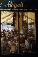 """Europe/France/Ile-de-France/75006/Paris: """"Les Deux Magots"""" boulevard Saint-Germain"""