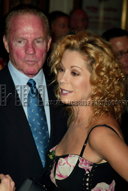 Frank Gifford and Kathie Lee Gifford<br /> Attending the Opening Night Performance of Broadway's Hottest New Musical, THE BOY FROM OZ<br /> at the Imperial Theatre, New York City.<br /> October 16, 2003