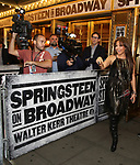 Thalia attending the opening night performance for 'Springsteen on Broadway' at The Walter Kerr Theatre on October 12, 2017 in New York City.