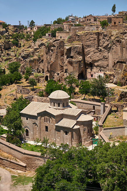 "Pictures & images of Guzelyurt Chuch Mosque, formely St Gregorius church,  9th century, the Vadisi Monastery Valley, ""Manastır Vadisi"",  of the Ihlara Valley, Guzelyurt , Aksaray Province, Turkey."