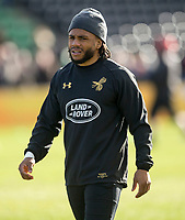 Wasps' Kyle Eastmond during the pre match warm up<br /> <br /> Photographer Bob Bradford/CameraSport<br /> <br /> Aviva Premiership Round 14 - Harlequins v Wasps - Sunday 11th February 2018 - Twickenham Stoop - London<br /> <br /> World Copyright &copy; 2018 CameraSport. All rights reserved. 43 Linden Ave. Countesthorpe. Leicester. England. LE8 5PG - Tel: +44 (0) 116 277 4147 - admin@camerasport.com - www.camerasport.com