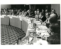 Les ministres des finances du commonwealth<br /> en reunion a Montreal,  septembre 1978, au Hyatt<br /> <br /> <br /> PHOTO : JJ Raudsepp  - Agence Quebec presse