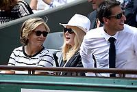 Valerie Pecresse; Nicole Kidman; Tony Estanguet - Internationaux de france de tennis de Roland Garros 2017 - Finale MESSIEURS
