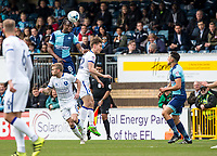 Marcus Bean of Wycombe Wanderers during the Sky Bet League 2 match between Wycombe Wanderers and Mansfield Town at Adams Park, High Wycombe, England on the 14th April 2017. Photo by Liam McAvoy.