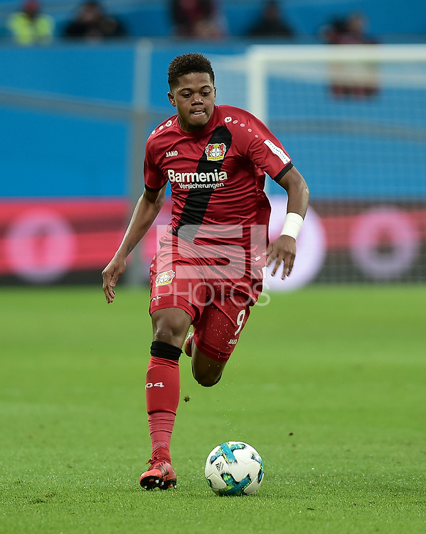 Football : Germany -1. Bundesliga  2017/18 <br /> Bayer Leverkusen 04 vs Mainz <br /> 28/01/2018 - Leon Bailey ( Bayer 04 Leverkusen) *** Local Caption *** &copy; pixathlon<br /> Contact: +49-40-22 63 02 60 , info@pixathlon.de