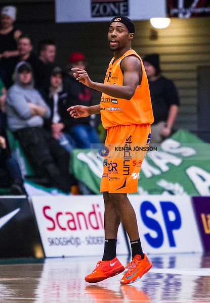 S&ouml;dert&auml;lje 2014-01-21 Basket Basketligan S&ouml;dert&auml;lje Kings - Norrk&ouml;ping Dolphins :  <br /> Norrk&ouml;ping Dolphins Kendrick Ken Brown <br /> (Foto: Kenta J&ouml;nsson) Nyckelord:  portr&auml;tt portrait