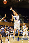 20 December 2011: Duke's Allison Vernerey (FRA). The Duke University Blue Devils defeated the University of North Carolina Wilmington Seahawks 107-45 at Cameron Indoor Stadium in Durham, North Carolina in an NCAA Division I Women's basketball game.