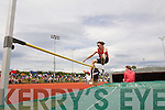 Matt Clancy Blennerville, in the Boys u-16 High Jump at the Kerry community games athlethics finals at an Riocht, Castleisland on Sunday.