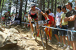 27.07.2013 La Massana, Andorra. UCI Mountain Bike World Cup. Picture show Stephane Tempier (FRA) in action during Cross-Country Final at Vallnord