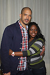 Terrell Tilford, Shenell Edmonds at The One Life To Live Lucheon at the Hemsley Hotel in New York City, New York on October 9, 2010. (Photo by Sue Coflin/Max Photos)