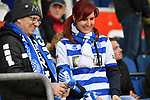 10.04.2019, Schauinsland-Reisen-Arena, Duisburg, GER, 2. FBL, MSV Duisburg vs. 1. FC Koeln,<br />  <br /> DFL regulations prohibit any use of photographs as image sequences and/or quasi-video<br /> <br /> im Bild / picture shows: <br /> Fans Duisburger <br /> <br /> Foto &copy; nordphoto / Meuter